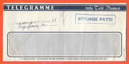 FRANCE TELEGRAMME DE 1966 DE PARIS - Télégraphes Et Téléphones