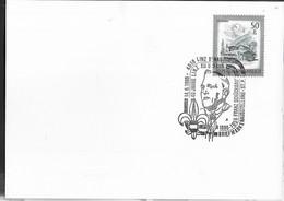"""AUSTRIA - SCOUTISMO -  ANNULLO SPECIALE """" 4O°LINZ XII URFAHR FRANZ SCHUCKBAUER - 14.6.1986"""" - 1981-90 Cartas"""