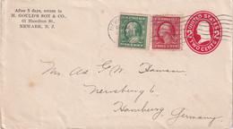 USA    ENTIER POSTAL/GANZSACHE/POSTAL STATIONARY LETTRE DE NEW YARK - ...-1900