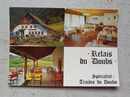 CPSM Suisse SOUBEY Relais Du Doubs - JU Jura