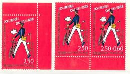 Poste 1993-Journée Du Timbre-YT 2793+paire Se Tenant P2793A-NEUF (*) - Nuevos