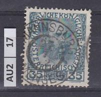 AUSTRIA   1908Anniversario Francesco Giuseppe  35 H Usato - Used Stamps