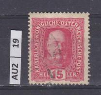 AUSTRIA   1916Corona, Francesco Giuseppe, Stemma 15 H Usato - Used Stamps