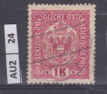 AUSTRIA   1916Corona, Francesco Giuseppe, Stemma 1 K Usato - Used Stamps