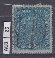 AUSTRIA   1916Stemma 2 K Usato - Used Stamps