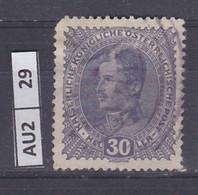 AUSTRIA     1917Imperatore Carlo I 30 H Usato - Used Stamps