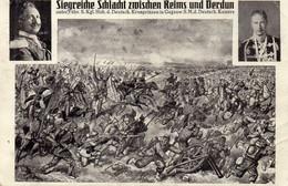 DC4663 - Ak Siegreiche Schlacht Zwischen Reims Und Verdun Militaria - Otros