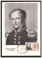 Carte Max.   Général DROUOT - 1960-69