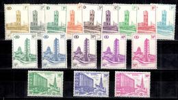 Belgique Colis Postaux YT N° 336/350B Neufs ** MNH. TB. A Saisir! - 1952-....