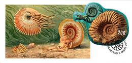 Maximumkarte 2015 Ammoniten / Ammonites - Cartoline Maximum