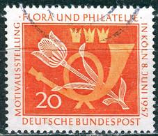 BRD - Mi 254 ⨀ (C) - 20Pf                Flora Und Philatelie - Oblitérés