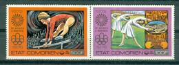 ETAT COMORIEN - P.A. N° 108** MNH Et 109** MNH SCAN DU VERSO - Jeux Olympiques D'été, à Montréal. - Comoros