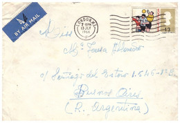 England 1966, Airmail, Sent From London On 07/13/1966 To Buenos Aires Argentina - Covers & Documents