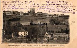 Semur-en-Brionnais - Vieux Chateau De La Vallée Au-dessous De Semur - 1903 - Other Municipalities