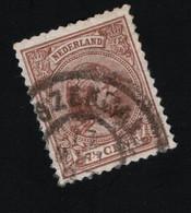1894 Wilhelmina Mi NL 36b Yt NL 39  AFA NL 39 NVP NL 39 - Used Stamps