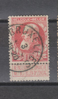 COB 74 Centraal Gestempeld Oblitération Centrale BRUXELLES RARE !!! - 1905 Breiter Bart