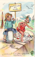 ILLUSTRATEUR  Germaine Bouret   Y Prend Pas L'eau Votre Paquebot Capitaine  ?? - Bouret, Germaine