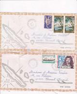 2 Enveloppes Par Avion Pouembout à Clermont Ferrand - Sin Clasificación