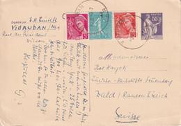 FRANCE 1939   ENTIER POSTAL/GANZSACHE/POSTAL STATIONARY CARTE DE VIDAUBAN - Cartes Postales Types Et TSC (avant 1995)