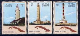 CUBA - 2294/2296** - PHARES - Neufs