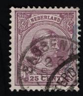 1894 Wilhelmina Mi NL 42b Yt NL 42  AFA NL 42 NVP NL 42 - Used Stamps