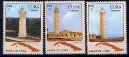 CUBA - 2222/2224** - PHARES - Neufs