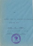 39599. Carta S.M. TARRAGONA 1948. Franquicia Prision Provincial A Regimiento Infanteria  Covadonga Num. MILITAR - 1931-50 Briefe U. Dokumente