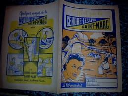 """Vieux Papier Protège Cahier Lessive Aux Cendres  """"Cendre- Lessive- St .Marc"""" Therme Folklore Normand ,la Normandie - L"""