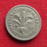 Nigéria 1 One Shilling 1962 KM# 5 *V1 - Nigeria
