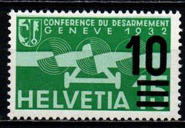 SVIZZERA - 1938 - POSTA AEREA CON SOVRASTAMPA - MNH - Ungebraucht