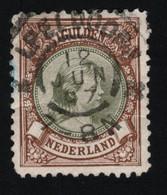1896 Wilhelmina  Mi NL 47B Sn NL 52 Yt NL 46 Sg NL 160 AFA NL 44 NVP NL 46B - Used Stamps