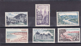 1954 - Série Touristique N° 976 à 981 - Timbres Neufs, Gomme D'origine, Aucune Trace. - Nuevos