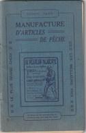 Manufacture D'articles De Pêche ( Saison 1928 ) La Loire Touraine - Chasse/Pêche