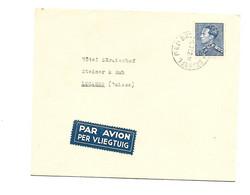 Par Avion/Airmail Brux.8.7.1952  Vers La Suisse Poortman 4 Fr Nr 847A - 1936-51 Poortman
