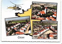 Cozes ....Multivues Edit Lapie Vue D'helicoptere  1966 - Autres Communes