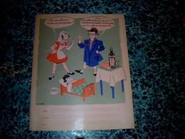 Vieux Papier Protège Cahier Rhum Nègrita  Therme Humour - R
