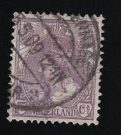 1906 Wilhelmina Mi NL 68 Sn NL 71 Yt NL 56 Sg NL 183 AFA NL 60 NVP NL 66D - Used Stamps