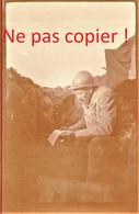 PHOTO FRANCAISE - LE PERE CAMEMBE A CHAVIGNON PRES DE MONAMPTEUIL AISNE 1917 - GUERRE 1914 1918 - 1914-18
