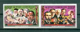 ETAT COMORIEN - P.A. N° 125** MNH Et 126** MNH SCAN DU VERSO - Prix Nobel. Sujets Divers. - Comoros