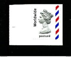 GREAT BRITAIN - 2004  MACHIN  WORLDWIDE POSTCARD  MINT NH - Machins