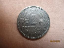 Allemagne 2 DM 1951 G - 5 Mark