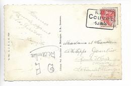 COUVET Suisse Cachet Rectangulaire R.V.T. COUVET 5 Janv. 1946 Cpa COUVET ....G - Briefe U. Dokumente