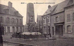80 - RUE - Le Monument Commémoratif - - Rue