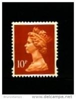 GREAT BRITAIN - 1995  MACHIN  10p. 2B  QUESTA MINT NH  SG Y1767 - Machins