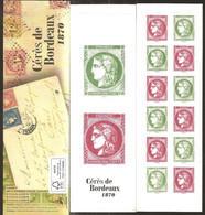 2020 Carnet Gommé N° 1527 Cérès De Bordeaux - NEUF - LUXE ** NON Plié - Gelegenheidsboekjes