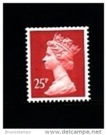 GREAT BRITAIN - 1996  MACHIN  25p. 2B  MINT NH  SG X917a - Série 'Machin'