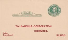 USA     ENTIER POSTAL/GANZSACHE/POSTAL STATIONARY CARTE - ...-1900