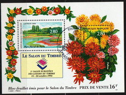 1994: Frankreich Block MiNr. 14 Gest.  / France Bloc Y&T No. BF16 Obl. (d461) - Oblitérés