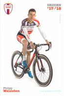 CYCLISME: CYCLISTE : PHILIPPE WALSLEBEN - Ciclismo