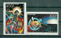 ETAT COMORIEN - P.A. N° 134** MNH Et 135** MNH SCAN DU VERSO - Vols Dans Le Cosmos. - Comoros